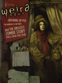 Weird Tales #354 (Special Edgar Allan Poe Issue) cover - click to view full size