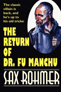 The Return of Dr. Fu Manchu cover - click to view full size