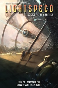 Lightspeed Magazine Issue 28 cover - click to view full size
