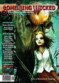 Something Wicked Issue 08 (November 2008) cover - click to view full size
