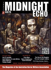 Midnight Echo Issue 8 cover - click to view full size