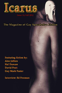 Icarus 14: The Magazine of Gay Speculative Fiction cover - click to view full size