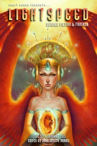 Lightspeed Magazine Issue 32 cover - click to view full size