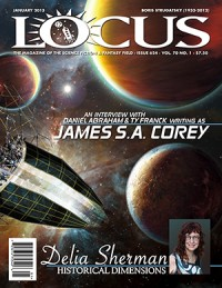 Locus January 2013 (#624) cover - click to view full size