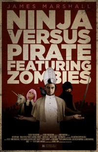 Ninja Versus Pirate Featuring Zombies cover - click to view full size
