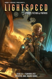 Lightspeed Magazine Issue 33 cover - click to view full size