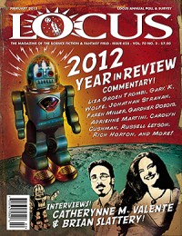Locus February 2013 (#625) cover - click to view full size