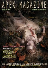 Apex Magazine – Issue 45 cover - click to view full size