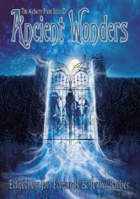 The Alchemy Press Book of Ancient Wonders cover - click to view full size