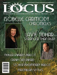 Locus March 2013 (#626) cover - click to view full size