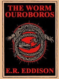 The Worm Ouroboros cover - click to view full size