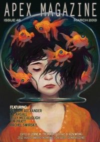 Apex Magazine – Issue 46 cover - click to view full size