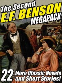 The Second E.F. Benson Megapack cover - click to view full size