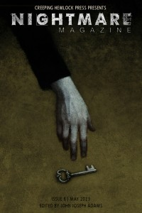 Nightmare Magazine Issue 8 cover - click to view full size