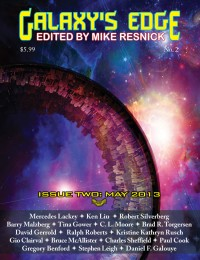 Galaxy's Edge Magazine – Issue 2: May 2013 cover - click to view full size