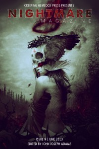 Nightmare Magazine Issue 9 cover - click to view full size