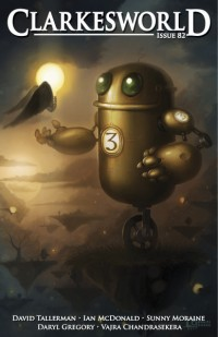Clarkesworld Magazine – Issue 82 cover - click to view full size