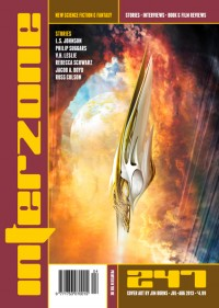Interzone #247 cover - click to view full size