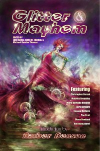 Glitter and Mayhem cover - click to view full size