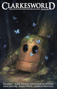 Clarkesworld Magazine – Issue 84 cover - click to view full size