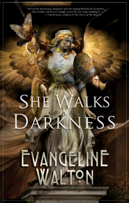 She Walks in Darkness cover - click to view full size