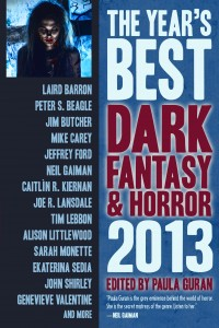 The Year's Best Dark Fantasy and Horror: 2013 cover - click to view full size