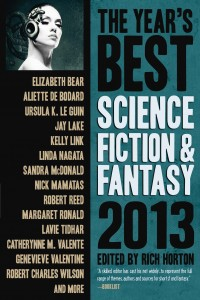 The Year's Best Science Fiction and Fantasy: 2013 cover - click to view full size