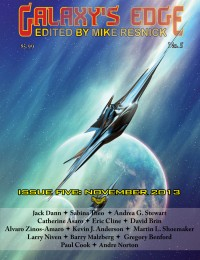 Galaxy's Edge Magazine – Issue 5: November 2013 cover - click to view full size