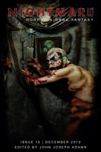 Nightmare Magazine Issue 15 cover - click to view full size