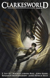 Clarkesworld Magazine – Issue 87 cover - click to view full size