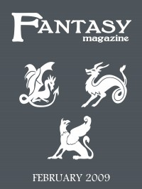 Fantasy Magazine, Issue 23 cover - click to view full size