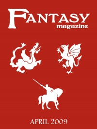 Fantasy Magazine, Issue 25 cover - click to view full size