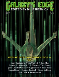 Galaxy's Edge Magazine – Issue 6: January 2014 cover - click to view full size