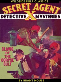 Secret Agent X: Claws of the Corpse Cult cover - click to view full size