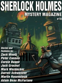 Sherlock Holmes Mystery Magazine #10 cover - click to view full size
