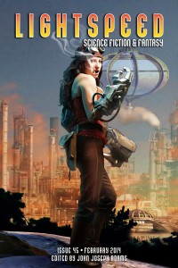 Lightspeed Magazine Issue 45 cover - click to view full size