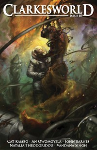 Clarkesworld Magazine – Issue 89 cover - click to view full size