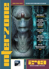 Interzone #249 cover - click to view full size