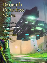 Beneath Ceaseless Skies Issue #142, Special Double-Issue for BCS Science-Fantasy Month 2 cover - click to view full size