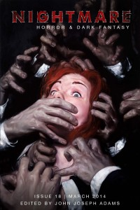 Nightmare Magazine Issue 18 cover - click to view full size