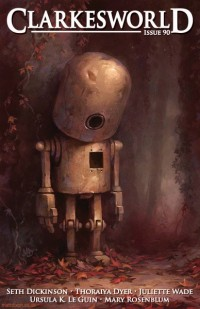 Clarkesworld Magazine – Issue 90 cover - click to view full size