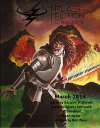 Flash Fiction Online Issue #6 March 2014 cover - click to view full size