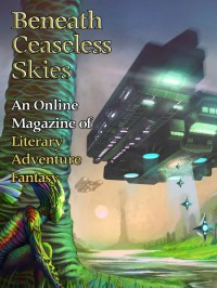 Beneath Ceaseless Skies Issue #143, Special Double-Issue for BCS Science-Fantasy Month 2 cover - click to view full size