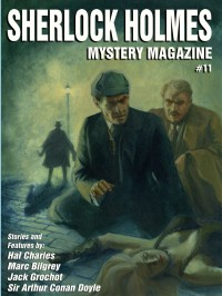 Sherlock Holmes Mystery Magazine 11 cover - click to view full size