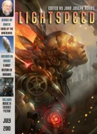 Lightspeed Magazine, July 2010 cover - click to view full size
