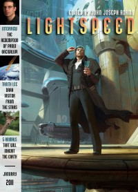 Lightspeed Magazine, January 2011 cover - click to view full size