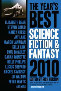 The Year's Best Science Fiction & Fantasy, 2010 Edition cover - click to view full size