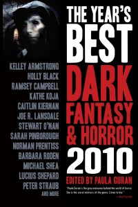 The Year's Best Dark Fantasy & Horror, 2010 Edition cover - click to view full size