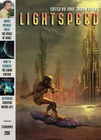 Lightspeed Magazine, February 2011 cover - click to view full size