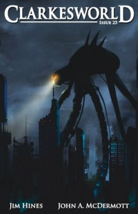 Clarkesworld Magazine – Issue 25 cover - click to view full size